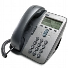 LAN-IP_Phone 7911 - IP телефон CISCO 7911 - ч/б дисплей